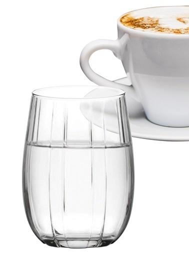 Paşabahçe 6'Lı Lınka Kahve Yanı Su Bardağı Renkli